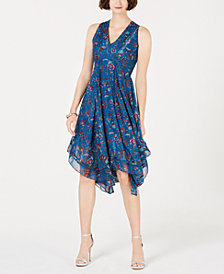 Taylor Floral Chiffon A-Line Dress