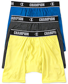 Champion Men's 3-Pk. Active Performance Boxer Briefs