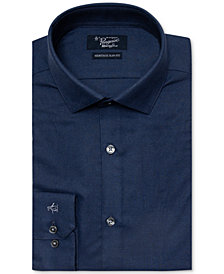 Original Penguin Men's Heritage Slim-Fit Comfort Stretch Solid Soft Dress Shirt