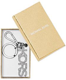 MICHAEL Michael Kors Boxed Rhinestone Kors Key Fob