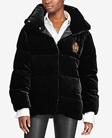 Polo Ralph Lauren Velvet Down Jacket