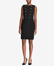 Polo Ralph Lauren Twill Double-Breasted Dress