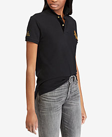 Polo Ralph Lauren Classic Fit Bullion Cotton Polo