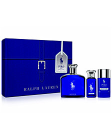 Ralph Lauren Men's 3-Pc. Polo Blue Eau de Parfum Gift Set