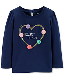 Carter's Toddler Girls Heart-Print T-Shirt
