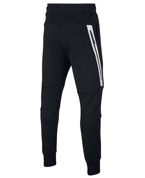 a4abea2e182c Nike Big Boys Sportswear Tech Fleece Pants   Reviews - Leggings ...