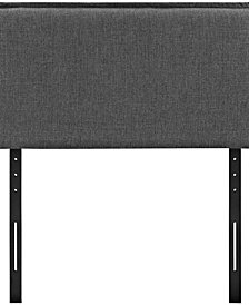 Camille Twin Upholstered Fabric Headboard
