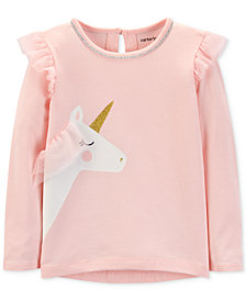 Carter's Toddler Girls Unicorn Tulle Top