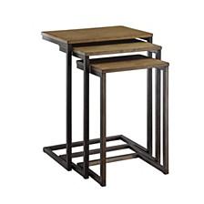 Eleana Wood Nesting Tables