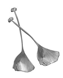 Michael Michaud Gingko Spoons - Set Of 2