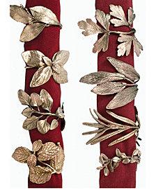 Michael Michaud 8 Herb - Assorted Napkin Rings