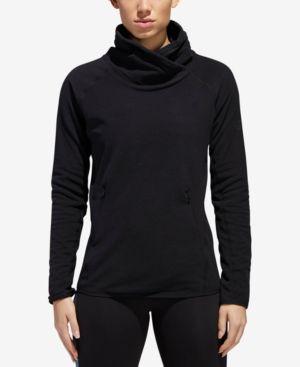 Originals Cowl Fleece Pullover in Black