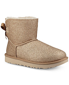 UGG® Women's Mini Bailey Bow Sparkle Booties