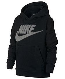 Nike Big Boys Logo-Print Hoodie