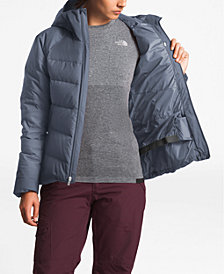 The North Face Heavenly Down Hooded Puffer Jacket
