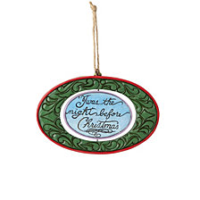 Jim Shore Twas the Night Before Christmas Ornament