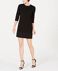 Calvin Klein Embellished Sheath Dress