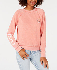 Roxy Juniors' Logo-Print Sweatshirt