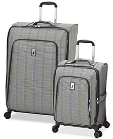 London Fog Knightsbridge II Expandable Spinner Luggage Collection