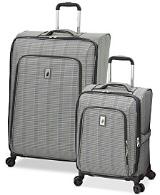 London Fog Knightsbridge II Expandable Spinner Luggage Collection