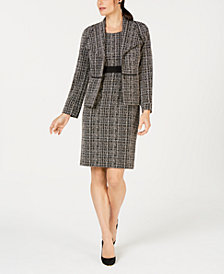 Kasper Tweed Jacket & Sheath Dress