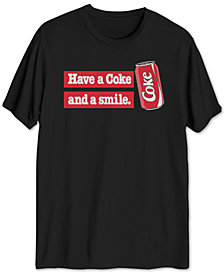 Coke Slogan Men's Graphic T-Shirt