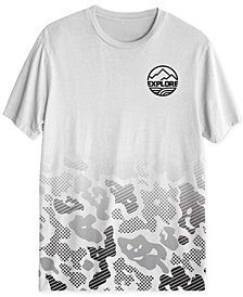 Explore Camo Men's Graphic T-Shirt