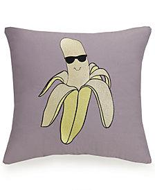 Urban Playground Cool Banana Decorative Pillow