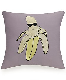 Urban Playground Cool Banana Decorative Pillow