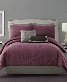 Matelasse Full/Queen 3-Pc Comforter Set