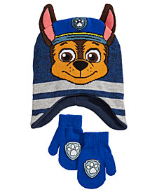 PAW Patrol Toddler Boys 2-Pc. Chase Hat & Mittens Set