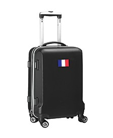"21"" Carry-On Hardcase Spinner Luggage - France Flag"