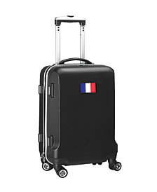 """21"""" Carry-On 100% ABS Hardcase Spinner Luggage - France Flag"""