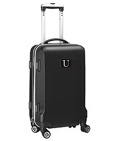 """21"""" Carry-On Hardcase Spinner Luggage - 100% ABS With Letter K"""