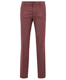 BOSS Men's Regular/Classic-Fit Stretch Chinos
