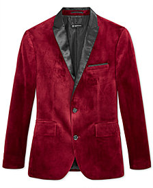 I.N.C. Men's Slim-Fit Velvet Blazer, Created for Macy's