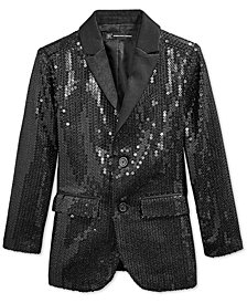 I.N.C. Boy's Sequined Blazer, Created for Macy's