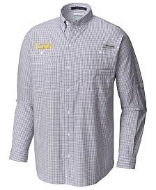 Columbia Men's LSU Tigers Super Tamiami Long Sleeve Shirt