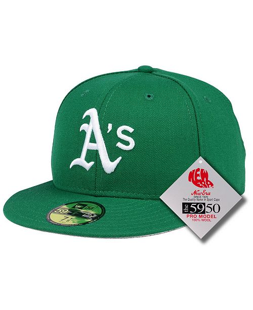 aad33adc New Era Oakland Athletics Retro Classic 59FIFTY FITTED Cap & Reviews ...