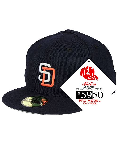 92531bec13d New Era San Diego Padres Retro Classic 59FIFTY FITTED Cap   Reviews ...