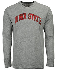 Retro Brand Men's Iowa State Cyclones Mock Twist Long Sleeve T-Shirt
