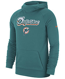 Nike Men's Miami Dolphins Dri-FIT Fashion Hoodie