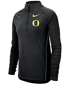 Nike Women's Oregon Ducks Element Half-Zip Pullover