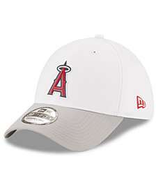 New Era Los Angeles Angels White Batting Practice 39THIRTY Cap