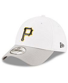 New Era Pittsburgh Pirates White Batting Practice 39THIRTY Cap
