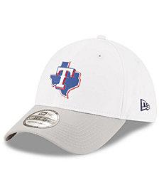 New Era Texas Rangers White Batting Practice 39THIRTY Cap