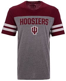 '47 Brand Men's Indiana Hoosiers Tri-Colored T-Shirt