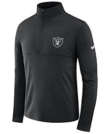 Nike Men's Oakland Raiders Core Modern Quarter-Zip Pullover