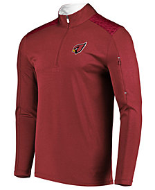 VF Licensed Sports Group Men's Arizona Cardinals Ultra Streak Half-Zip Pullover