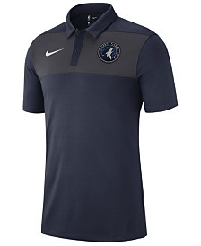 Nike Men's Minnesota Timberwolves Statement Polo